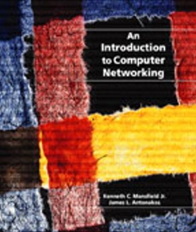 Introduction to Computer Networking for Engineering and Technology 9780130796936