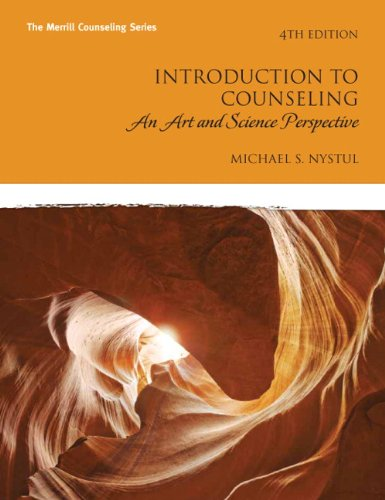 Introduction to Counseling: An Art and Science Perspective 9780137016105