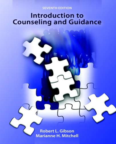 Introduction to Counseling and Guidance 9780131738218