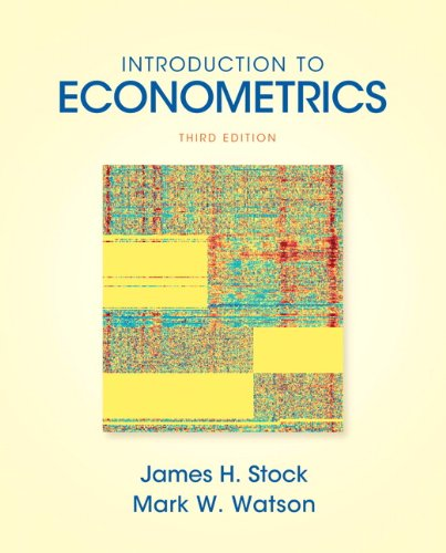 Introduction to Econometrics 9780138009007