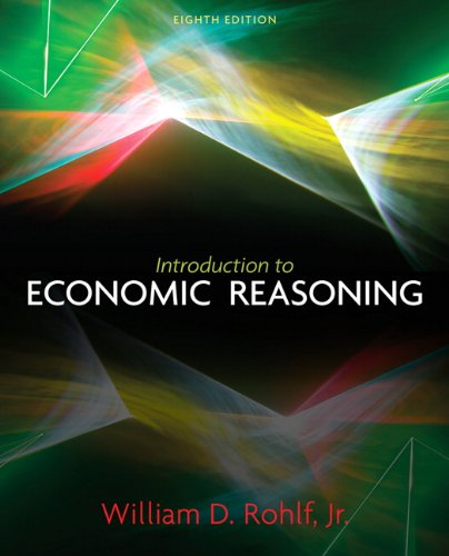 Introduction to Economic Reasoning 9780131368583