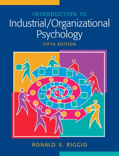 Organizational Psychology book of majors 2017