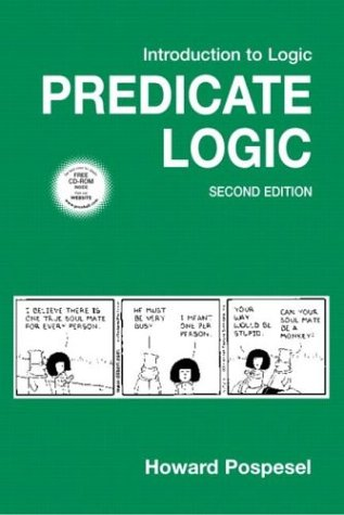 Introduction to Logic: Predicate Logic 9780131649897