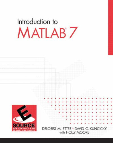 Introduction to MATLAB 7 9780131474925