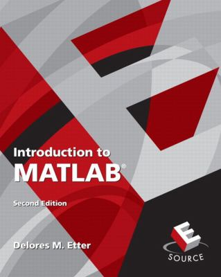 Introduction to MATLAB 9780136081234
