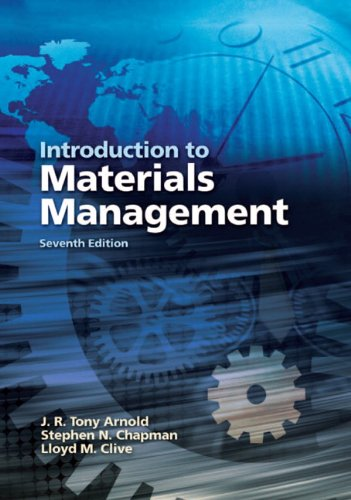 Introduction to Materials Management 9780131376700