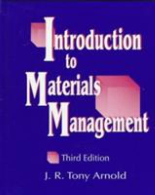 Introduction to Materials Management 9780138620875
