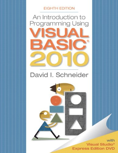 Introduction to Programming Using Visual Basic 2010 9780132128568