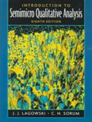 Introduction to Semimicro Qualitative Analysis