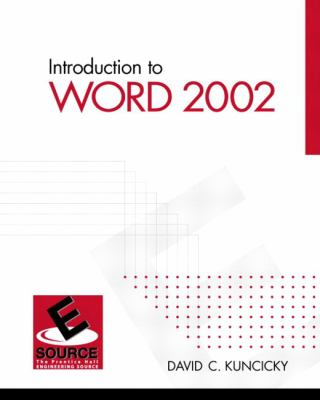 Introduction to Word 2002 9780130081704