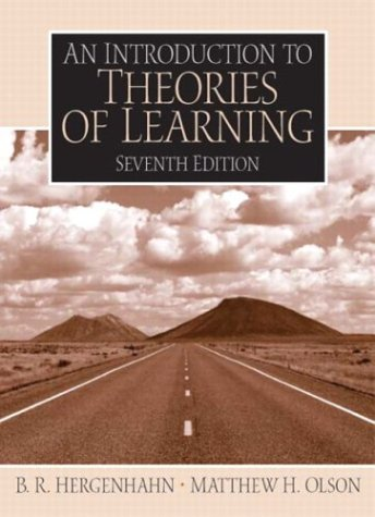 Introduction to the Theories of Learning 9780131147225