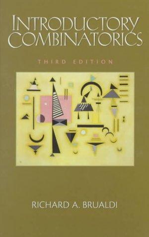 Introductory Combinatorics 9780131814882