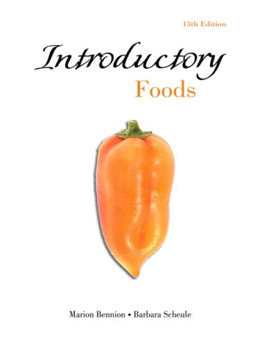 Introductory Foods 9780132339261