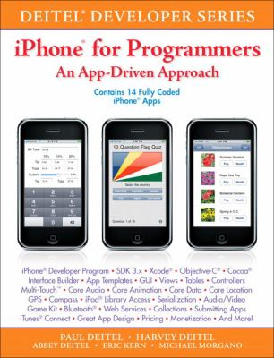 iPhone for Programmers: An App-Driven Approach 9780137058426