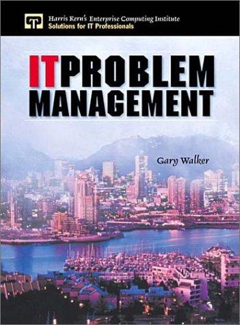 It Problem Management 9780130307705