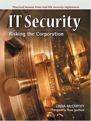 It Security: Risking the Corporation 9780131011120