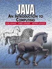 Java: An Introduction to Computing 339697