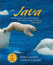 Java: An Introduction to Problem Solving & Programming 399567