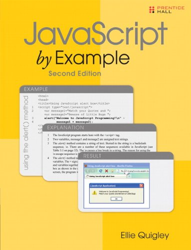 JavaScript by Example 9780137054893