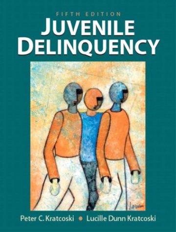 Juvenile Delinquency 9780130336736