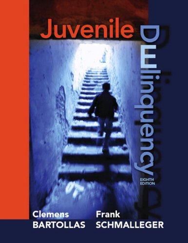 Juvenile Delinquency 9780135052617