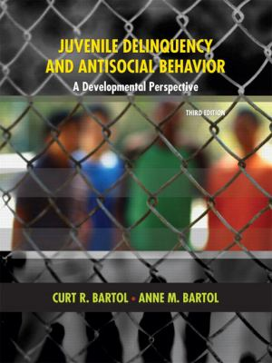 Juvenile Delinquency and Antisocial Behavior: A Developmental Perspective 9780131599253