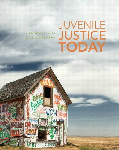 Juvenile Justice Today 9780135151488