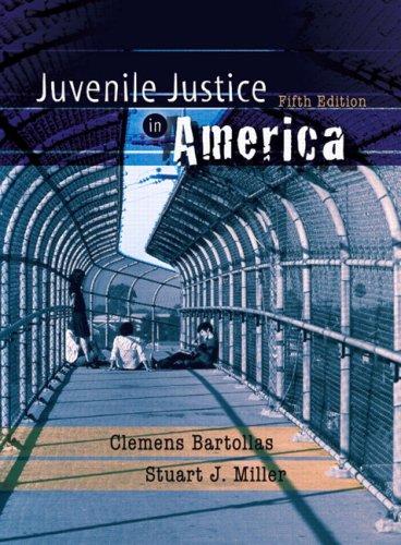 Juvenile Justice in America 9780132256940
