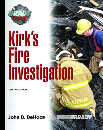 Kirk's Fire Investigation 9780131719224