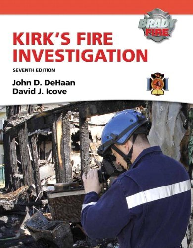 Kirk's Fire Investigation 9780135082638