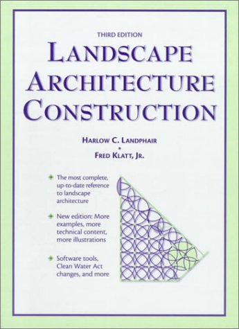 Landscape Architecture Construction 9780132549479