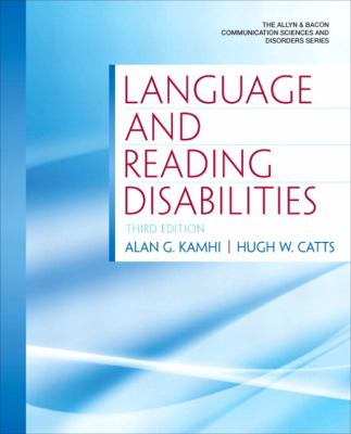 Language and Reading Disabilities 9780137072774