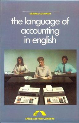 Language of Accounting in English