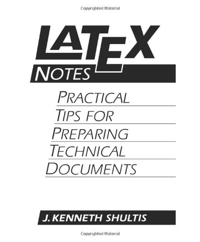 Latex Notes 9780131209732