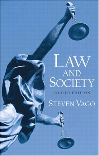 Law and Society 9780131928442