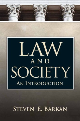 Law and Society: An Introduction 9780131946606