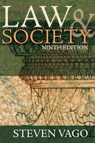Law and Society 9780132318853