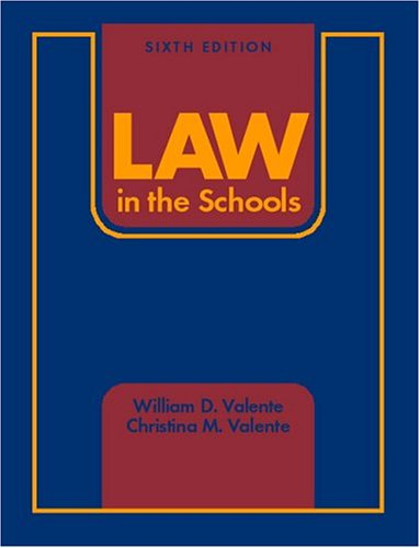 Law in the Schools 9780131141551