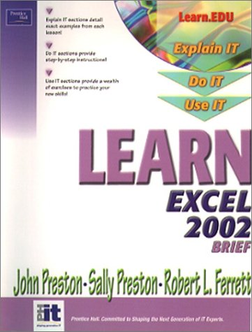 Learn Excel 2002 Brief 9780130613141