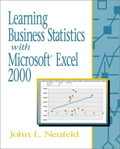 Learning Business Statistics with Microsoft Excel 2000 9780130308788
