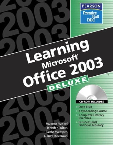 Learning Office 2003: Deluxe Edition 9780131464308