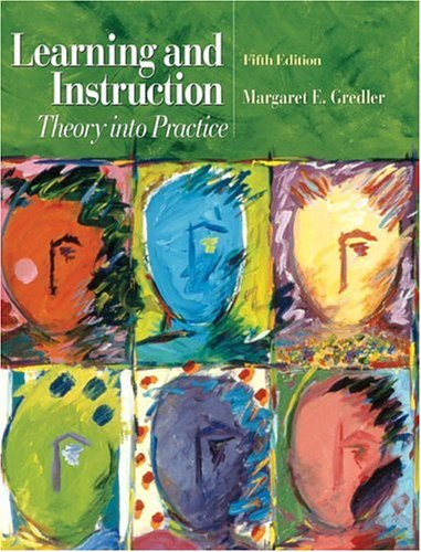 Learning and Instruction: Theory Into Practice 9780131119802