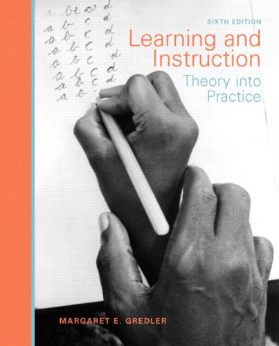 Learning and Instruction: Theory Into Practice 9780131591233