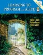 Learning to Program with Alice [With CDROM] 9780132085168