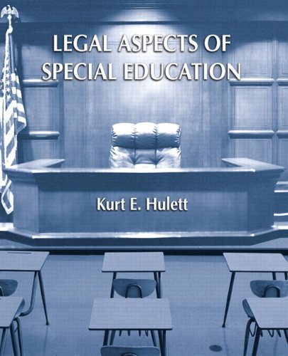 Legal Aspects of Special Education 9780131173460