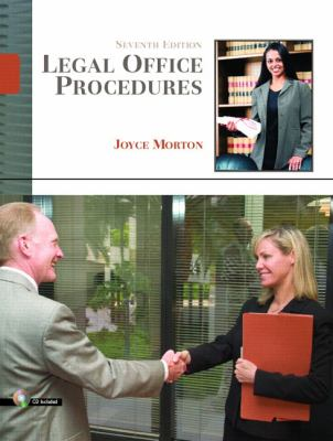 Legal Office Procedures [With CDROM] 9780132209564