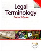Legal Terminology - Brown, Gordon W.