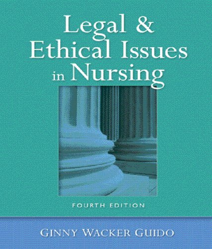 law and ethics nursing essay