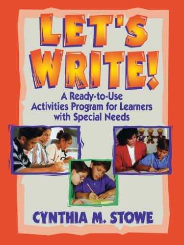 Let's Write!: A Ready-To-Use Activities for Learners with Special Needs 9780130320100