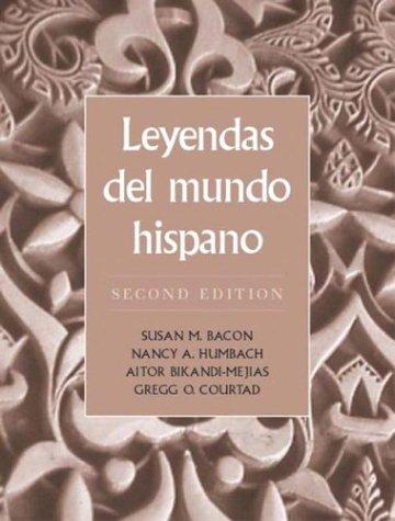 Leyendas del Mundo Hispano 9780131834286